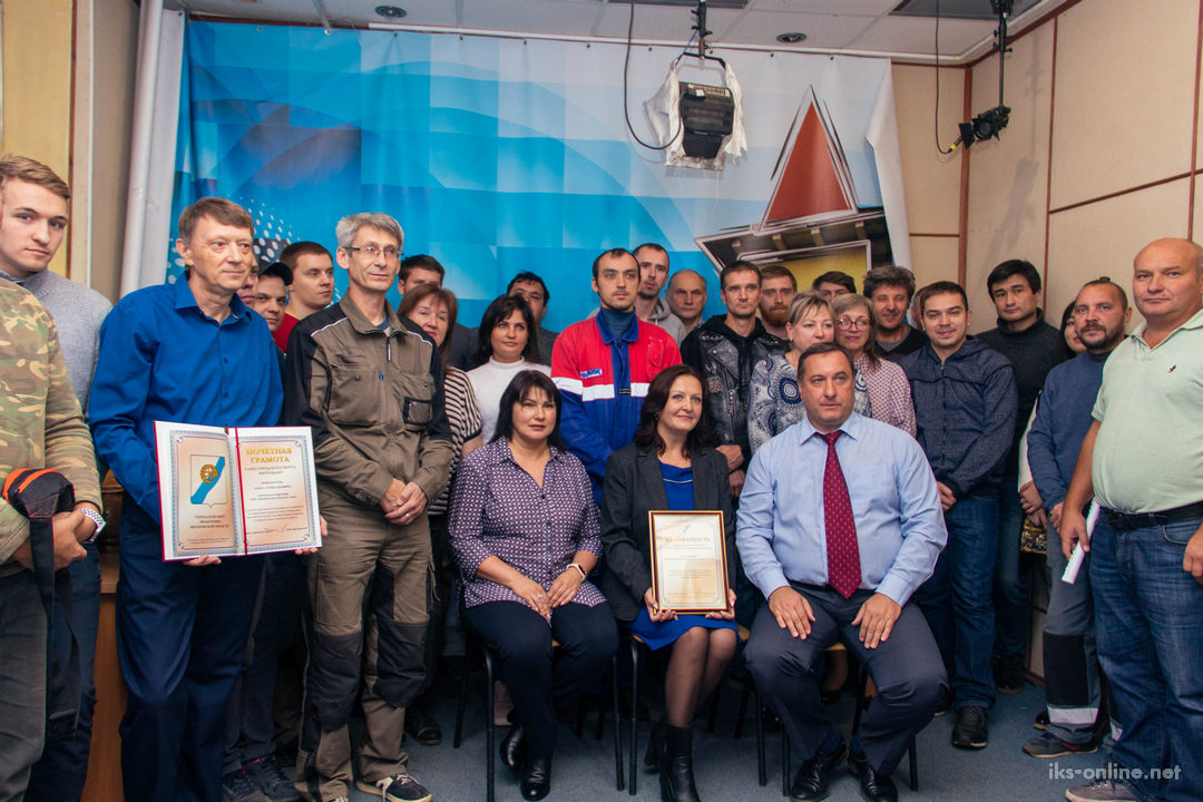 Поздравление администрации Ивантеевки коллектива ИКС